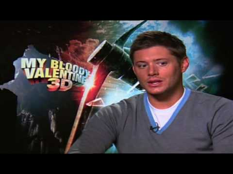 Jensen Ackles Interview For My Bloody Valentine 3D   YouTube