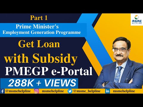 Prime Minister's Employment Generation Programme (PMEGP) - Get Loan with Subsidy