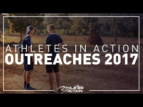 Athletes in Action Outreach 2017 promo