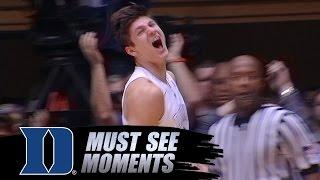 Duke Basketball: Grayson Allen Goes Nuts After Breakaway Dunk vs NC State