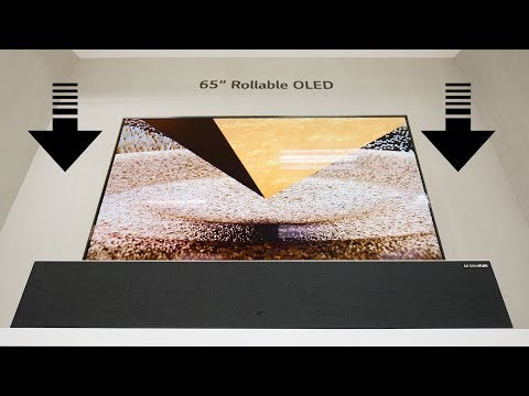 VIDEO: The Rollable OLED TV: The Potential is Real!