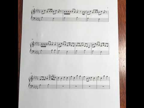 Make It Pop Tomorrow Is Ours Piano Sheet Music A Request