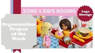 Organization Project Of The Week- Zone 4 Kid's Rooms: [lego Storage]