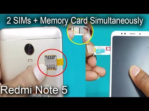 xiaomi-redmi-note-5---dual-sim-&-sd-card-simultaneously--how-to-use-2-sims-&-sd-card-in-redmi-note-5