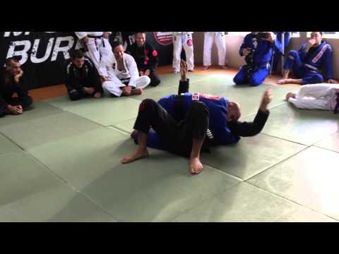 Renato Laranja Shows one of his 27 Time World Championship Techniques   LEGACY Burbank BJJ
