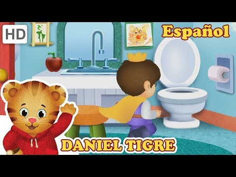 Daniel Tigre en Español - Baño de Entrenamiento