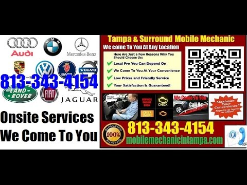 Foreign Auto Repair Tampa | European Or German Car Repair 813-343-4154