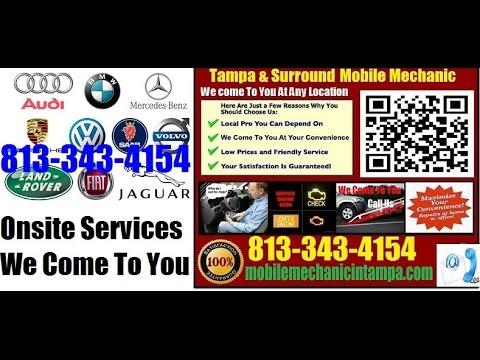 Foreign Auto Repair Tampa | European or German Car Repair 813-343-4154