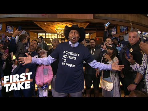 Stephen A. Smith trolls Dallas Cowboy fans and former players | First Take
