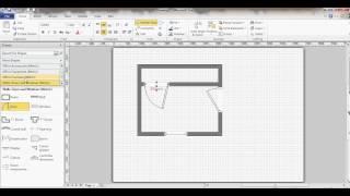 Microsoft Visio - Floor Plan