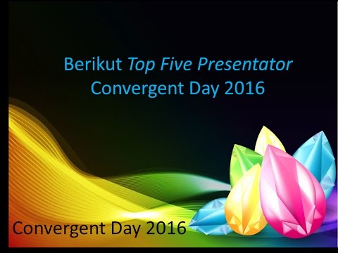 Top Five Presentator C-Day 2016