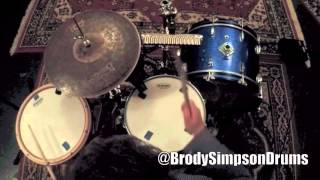 session drummer brody simpson jungle drum and bass groove