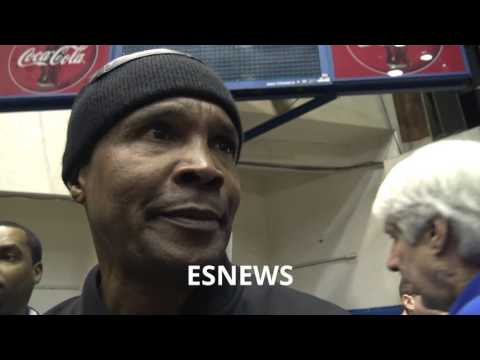 Sugar Ray Leonard Epic Interview - esnews boxing