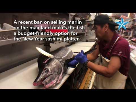 Crave: Marlin sashimi is a good alternative to ahi