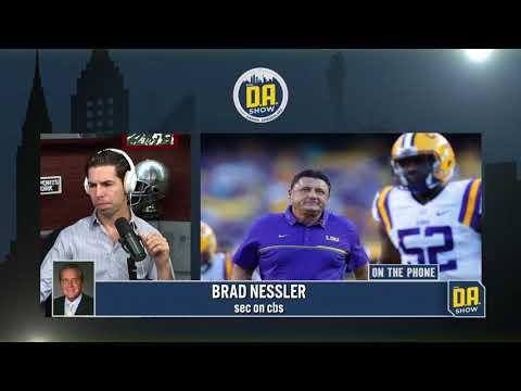SEC on CBS voice Brad Nessler joins D.A.