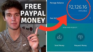 FREE Paypal Money ($3,000+ In 4 Minutes Of Work)