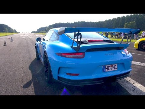 Porsche 991 GT3 RS w/ Straight Pipes Exhaust System!