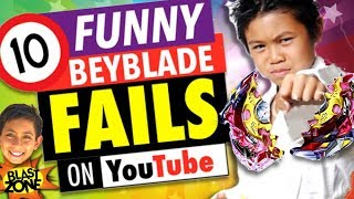 10 Funny Beyblade Fails!  Epic Beyblade Burst Fail Compilation!  Funny videos. Fail Video.