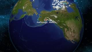 Nordamerika Kort om världsdelen