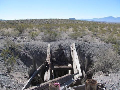 Historic Maryland Mine In The Apache No 2 Mining District Of Hildago County New Mexico