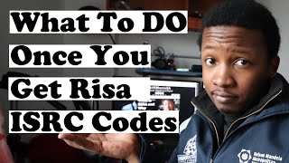What To Do When You Get your RISA ISRC codes