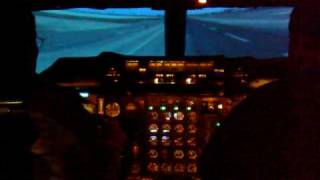 Flying The Concorde Simulator - Clip 1