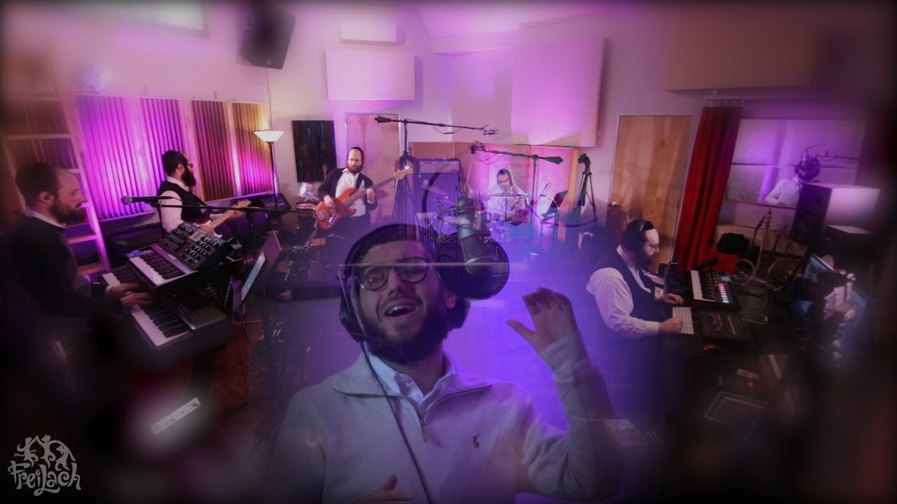 In the Studio: The 8th Note (Composed by Yossi Green) Freilach Band ft. Levi Cohen