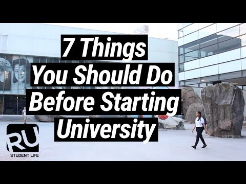 7 Things You Should Do Before Starting University // #RoadToRyerson Week 2