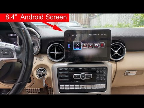 "8.4"" Android Screen Installation For Mercedes SLK & SLC"