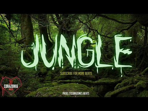 'JUNGLE' insane FREE trap beat 2017 - Drake type beat - hard dark instrumental