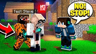 TEST STEVE IS ACTUALLY EVIL?! (Scary Survival EP47)