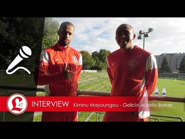 Oberligateam: Interview mit Kiminu Mayoungou und Gelicio Banze