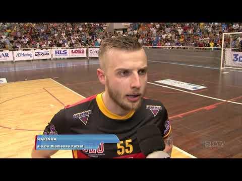Depois de oito meses de atividade Blumenau Futsal conquista título da Copa SC