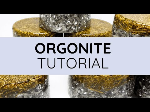 Orgonite | How To Make Powerful & Simple Orgonite!