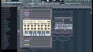 Brega no Fl Studio 11 - Instrumental