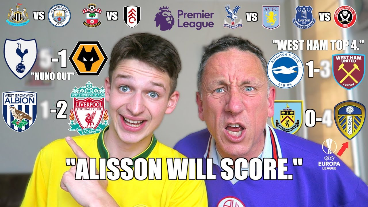 You Won't Believe Our Premier League Predictions for Gameweek 36