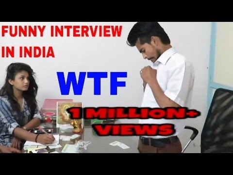 Dehati Candidate breaks/cracks Job Interview ll Funny\comedy Interview Video ll TEAM AQ ||