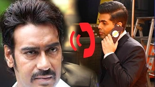 Ajay ने Karan को फोन पर दी गालियां | latest news Ajay Devgan Abuse Karan Johar Archives