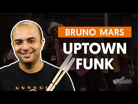 Uptown Funk - Mark Ronson feat. Bruno Mars (aula de bateria)