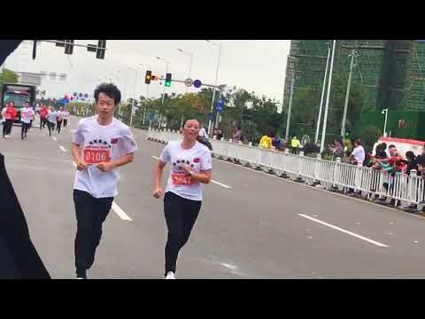 Worker,take part in Local Marathon Competition