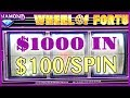 😳 TEN SPINS on💲100 🎡 Wheel of Fortune 😜 AGAIN!! + More! ✦ Slot Machine Fruit Machines w Brian C