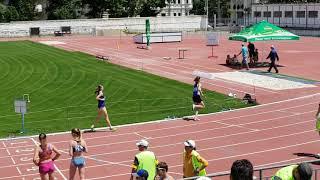 Чемпионат Молдовы по легкой атлетике 4x400м. 2018г. Женщины