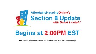 January 22nd Section 8 Update Hangout