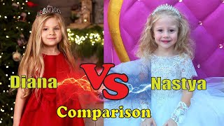 Like Nastya vs Kids Diana Show Shocking Life Story Comparing    You Don't Know