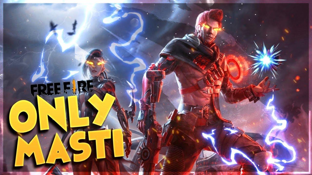 Free Fire Live Fun Masti Gameplay With Romeo AO VIVO