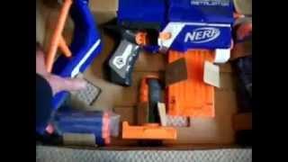 NEW Nerf N-strike Elite Retaliator unboxing+First looks!