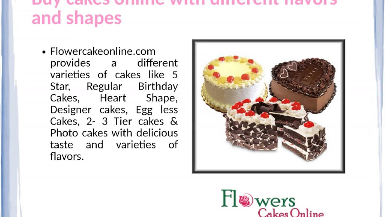 Buy Cake Online And Buy Flowers Online And Send It To India Youtube