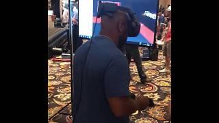 Zebra Athletics Showcases Virtual Reality at Martial Arts SuperShow