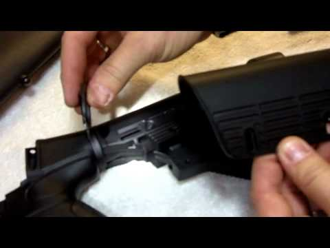 ATI Talon Tactical Six Position Shotgun Stock Install