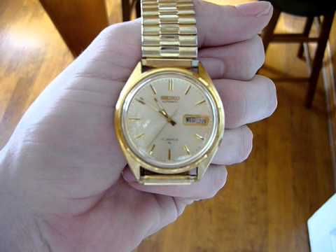 d327ecd94 35+ Year Old Seiko Automatic Watch - YouTube